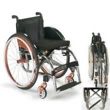 fauteuil roulant actif pliant ultra leger icare alhena