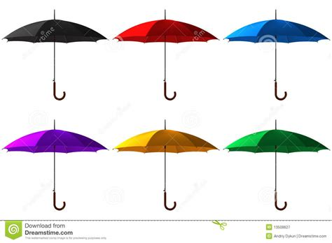 set umbrella umbrella set royalty free stock photography image 13508627