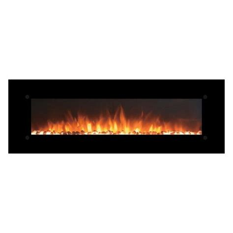 touchstone onyx xl 72 quot wall mounted electric fireplace