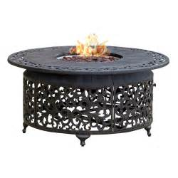 Outdoor Patio Table With Propane Fire Pit by Paramount Fp 251 Round Outdoor Propane Fire Pit Table