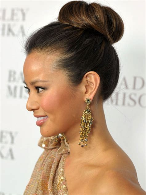 Hairstyles Buns by Hair Trends 2015 Bun Hairstyles Hairstyles 2017