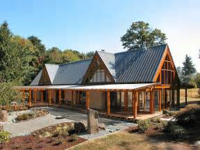 Cabin chic mountain home of glass and wood modern house designs