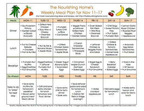 meal plan monday november 11 24 the nourishing home