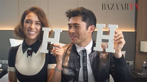 liv lo youtube get to know henry golding and liv lo on the february 2018