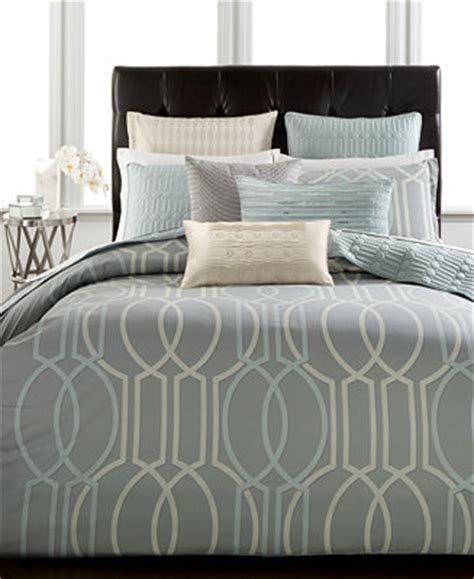 queen comforter only hotel collection modern interlace full queen comforter