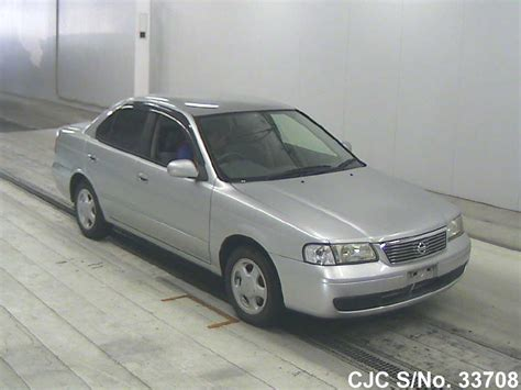 nissan sunny 2002 2002 nissan sunny silver for sale stock no 33708