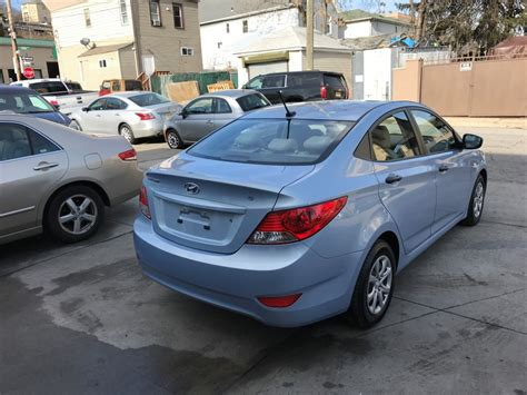 used 2012 hyundai accent for sale used 2012 hyundai accent gls sedan 7 390 00