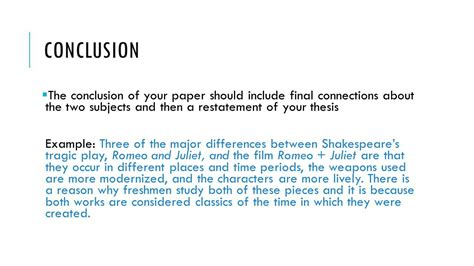 Conclusion Exle For Essay by Exle Conclusion Essay Okl Mindsprout Co