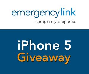 Win Iphone 5 Giveaway - iphone 5 giveaway from emergencylink giveaway not so average mama
