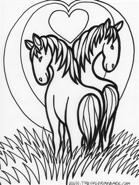 horse coloring pages online free horse coloring pages only coloring pages