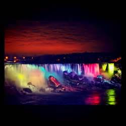 niagara falls illuminated night paula digital photographer