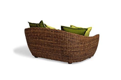 divani rattan offerte divano 2 posti in rattan retro
