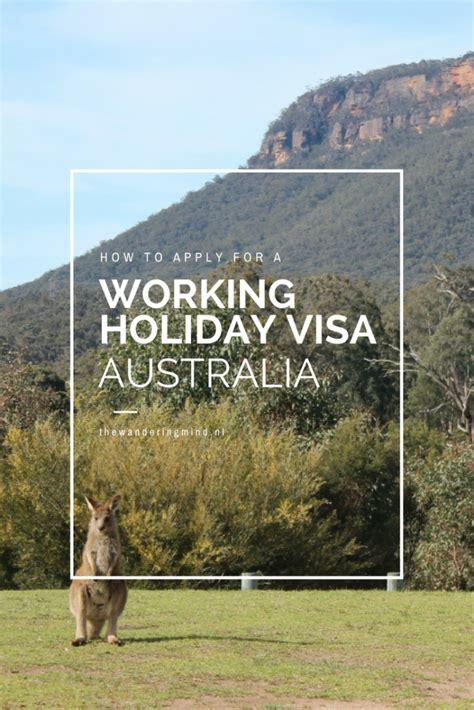 cara membuat visa working holiday australia travel tips australia how to get a working holiday