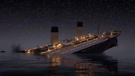 imagenes historicas del titanic v 237 deo el hundimiento del titanic en dos horas 41 minutos
