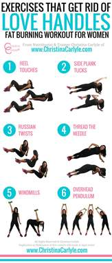 exercises for belly and handles sport fatare