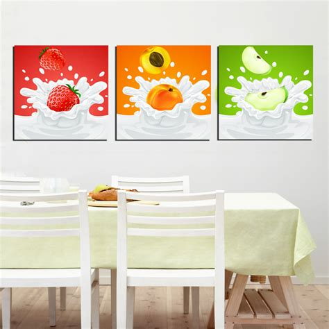 shop wall decor wall decor mural fruit painting canvas