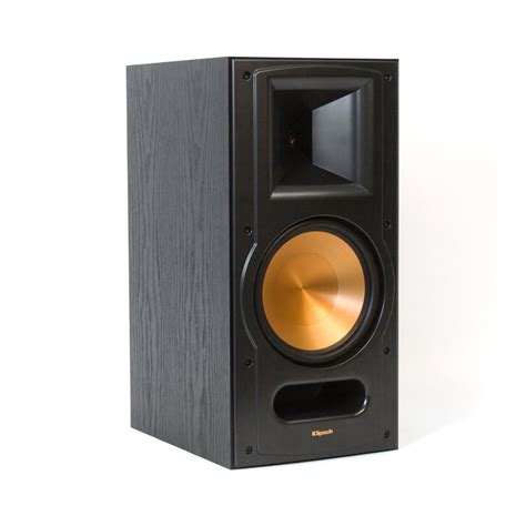 klipsch rb 81 reference ii two way bookshelf speaker black