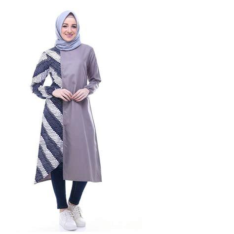 Termurah Baju Muslim Tunik Tunik Batik Kuning baju muslim murah newhairstylesformen2014