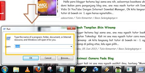 tutorial memperindah blogger memperindah tilan command prompt cmd blog mang ade