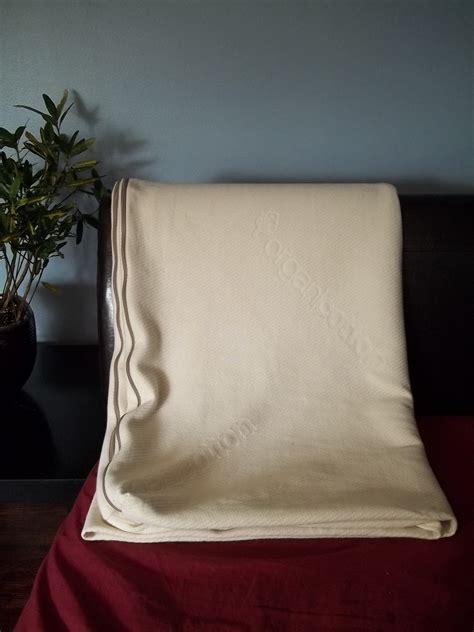 diy natural bedding knit ticking