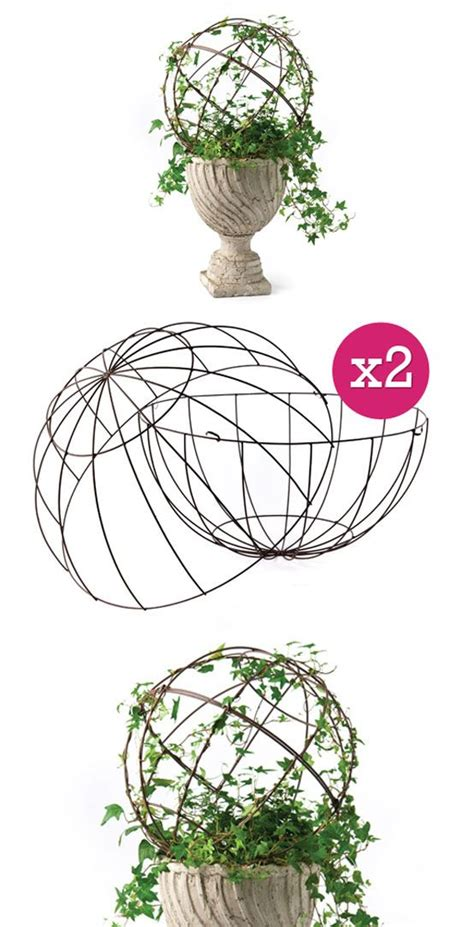 how to make your own topiary frames inspiration topiary form diy charm wire metal topiary
