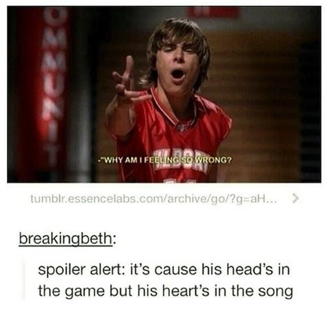 Musical Meme - 23 hilarious tumblr posts about quot high school musical quot that