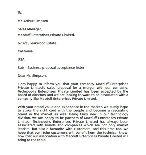 sample personal business letter formats