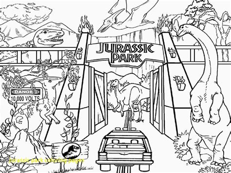 jurassic park coloring pages with coloring pages dinosaur