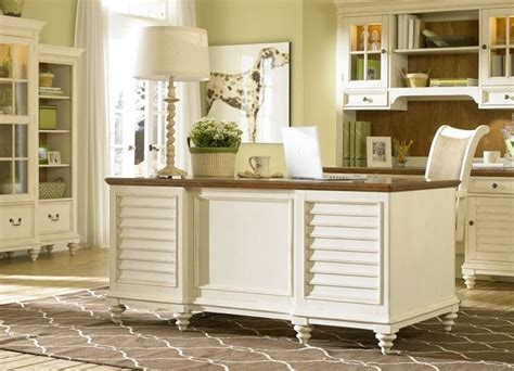 White Home Office Furniture Office Furniture Southport Credenza Hutch Distressed White Office Furniture Havertys