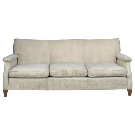 Maison Sofa by Chic Large 1950s Sofa By Maison Leleu For Sale At
