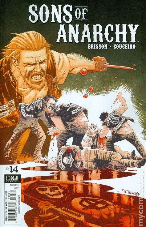 anarchy in books sons of anarchy 2013 boom comic books