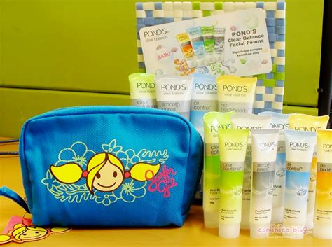 Berapa Sho Loreal cominica pond s clear balance giveaway packages