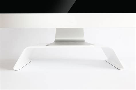 What Does Mba Stand For In Computers by Baneret Matte White Computer Stand Review 187 The Gadget Flow