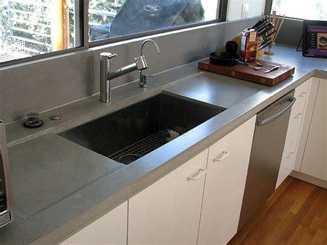 Concrete Countertop Backsplash 101 Best Concrete Countertops Images On