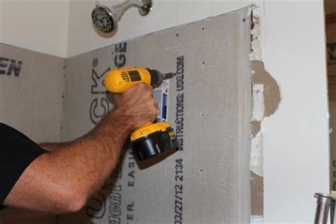 best places cement board installation shower tile backer choosing the right substrate for a
