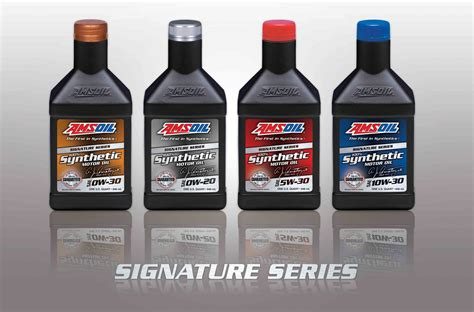Amsoil Signature Series 5w30 Liter amsoil expands signature series line amsoil synthetic motor oils and lubes