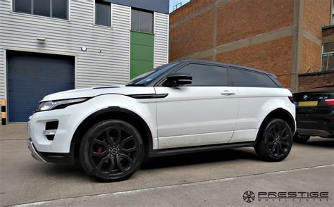 range rover evoque modified range rover evoque with custom finished smokey black