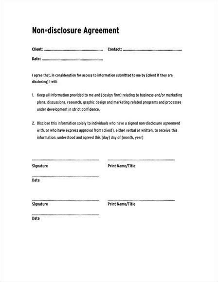 Confidentiality Agreement Template Google Search Contract Pinterest Therapy Ideas And Therapy Contract Template