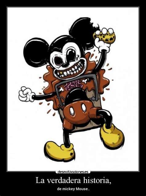La Verdadera Istoria De Micki Mouse | usuario llegarealaprincipal desmotivaciones