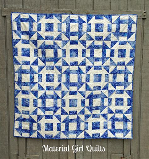 churn dash a finished quilt material quilts