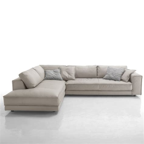corner leather sofa minerale italian grey leather corner sofa