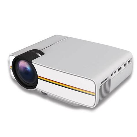 Mini Projector Led Luxeon Yg 400 Mini Led Projector White