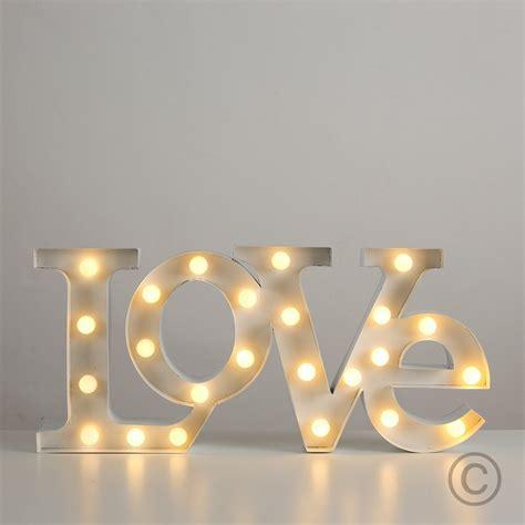 Bella Home Decor lampada led love il regalo romantico per lei