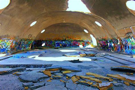 weird abandoned domes  casa grande arizona urban