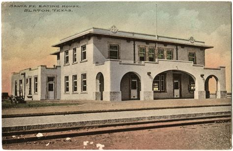 harvey house the slaton harvey house then a west taming way station now a nostalgic b b and west texas
