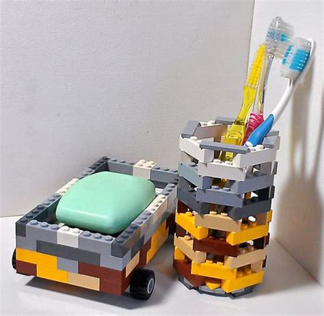 lego bathroom decor 20 genius methods lego to greatest life hacks