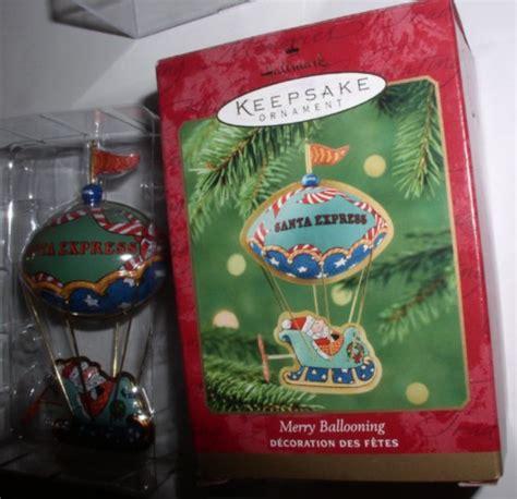 futurama christmas ornaments merry ballooning santa express hallmark tin air balloon ornament rena s collectibles