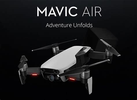 dji mavic air compact foldable drone announced photo rumors
