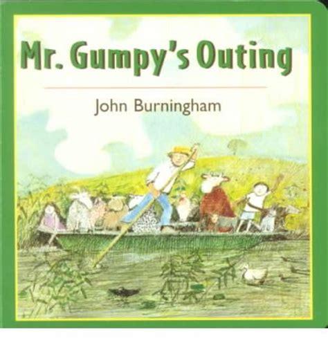 mr gumpys outing 0099408791 mr gumpy s outing john burningham john burningham 9780805066296