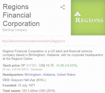 Regions Bank Auto Loan Alabama Customer Service Phone